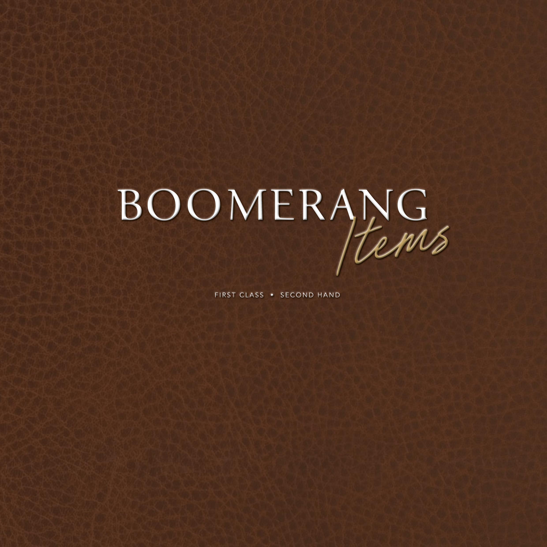Boomerang Items Brand Identity
